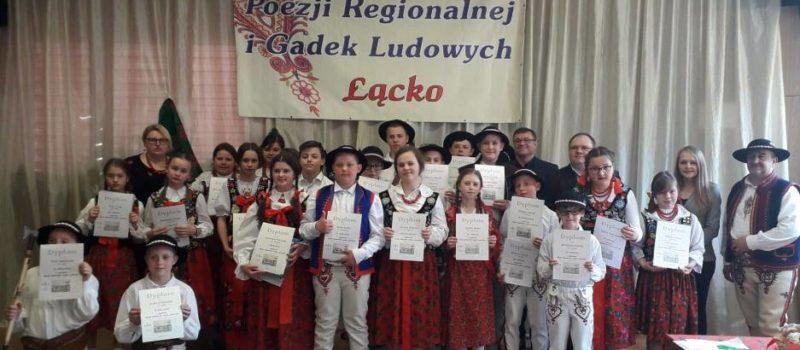 Konkurs Poezji Regionalnej i Gadek Ludowych – sukcesy!