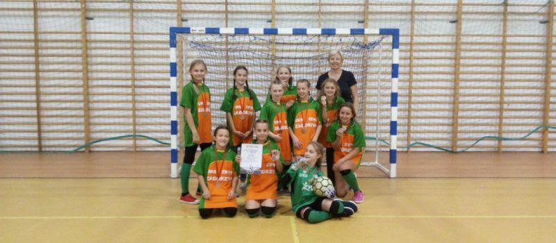 III miejsce – piłka nożna dziewcząt