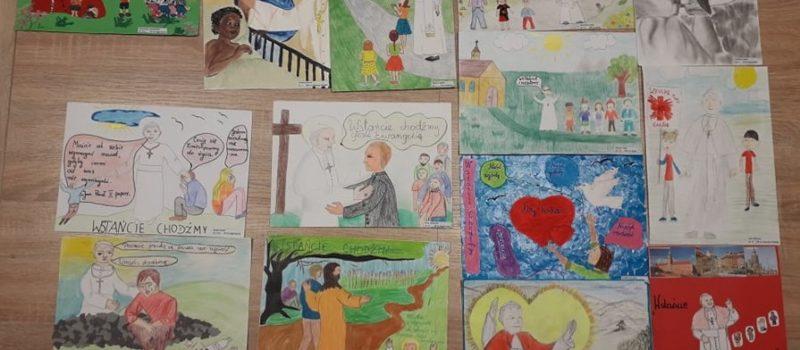 Gminny konkurs plastyczny z okazji Dnia Papieskiego