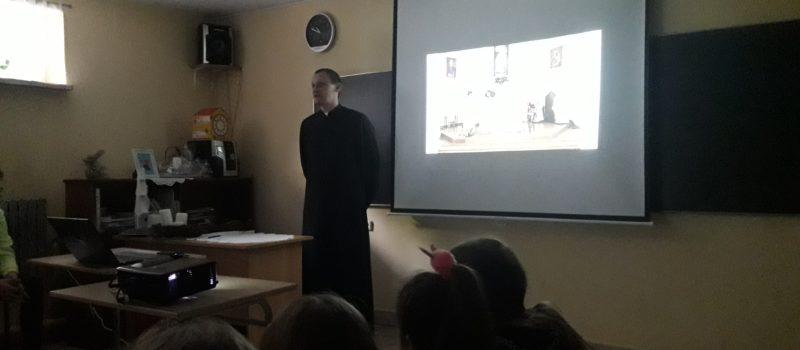 Spotkanie z księdzem Rafałem Zborowskim