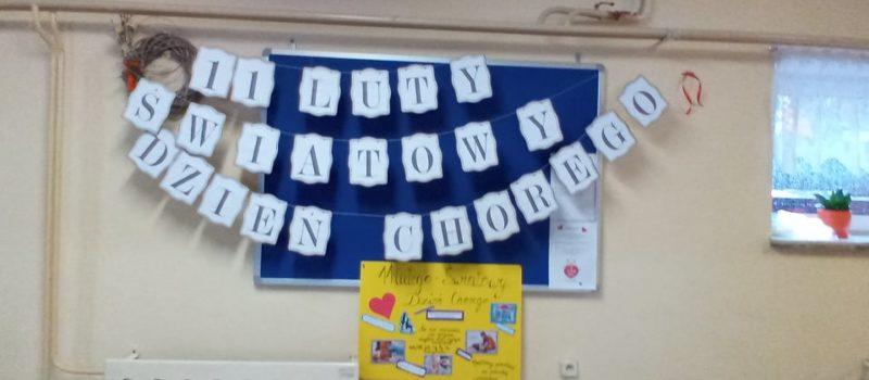 Światowy Dzień Chorego w naszej szkole
