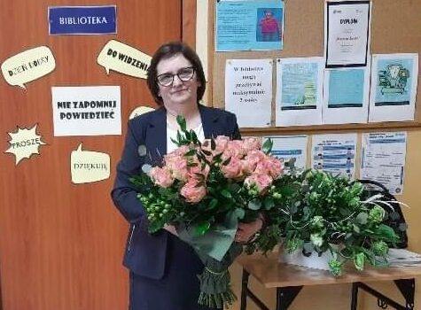 Gratulacje dla naszej Pani Dyrektor
